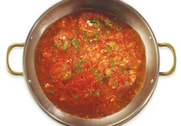 Shrimp saganaki (ramekin)