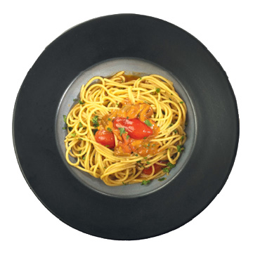 Spaghetti with sea urchin